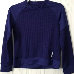 Reebok Girls Athletic Shirt Sz.(L) Purple